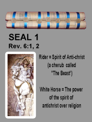 The First Seal is open - Four Horseman