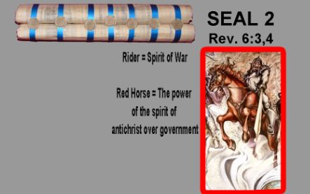The Second Seal is open - Four Horseman