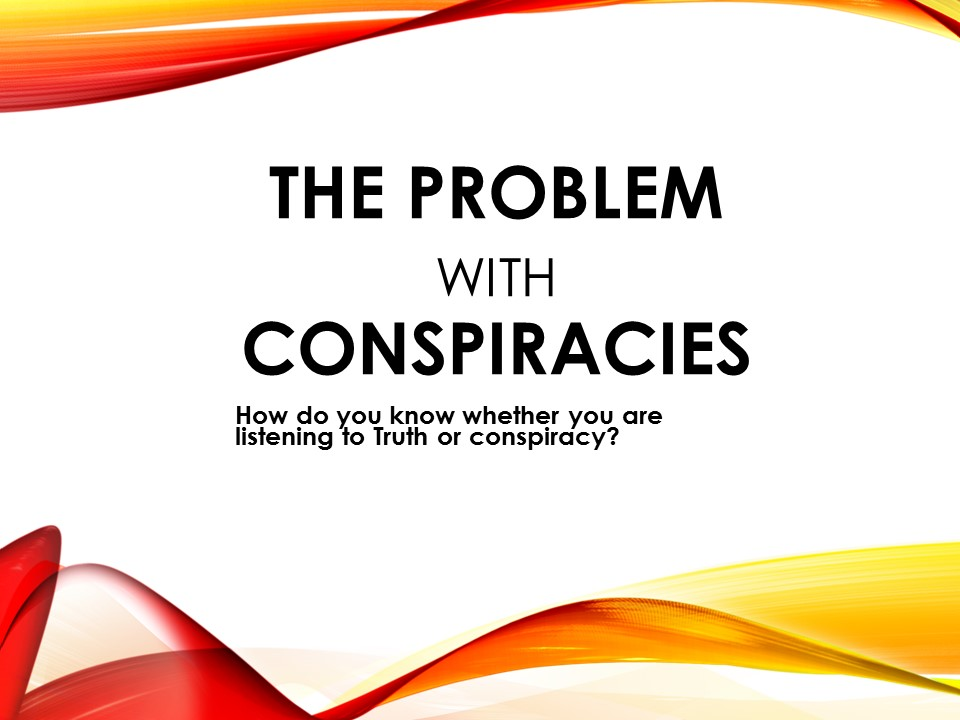Conspiracy theorists or true minister of the Gospel?